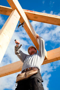timber construction worker